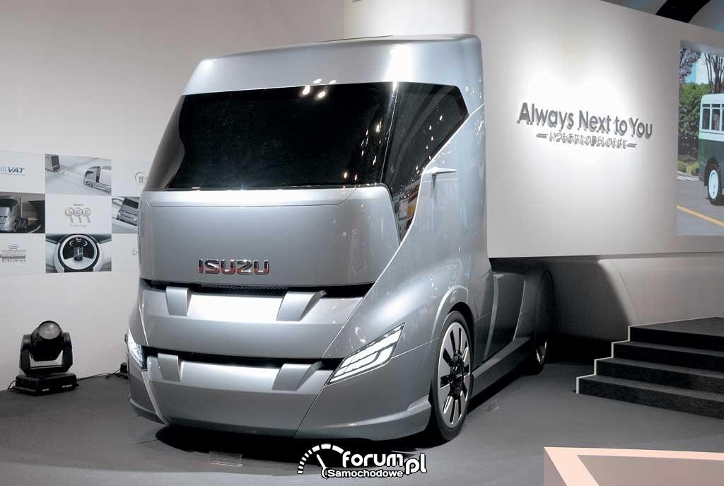 Isuzu T-Next, studyjna wizja ciężarówki przyszłości - Tokyo Motor Show 2011