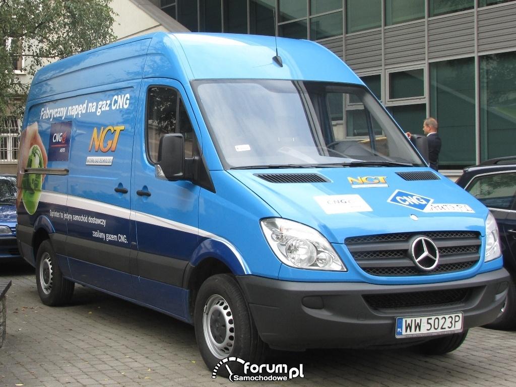 Mercedes Sprinter w wersjach NGT i LGT receptą na kryzys