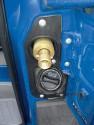 Miejsce tankowania gazu obok wlewu paliwa, Sprinter 316 LGT