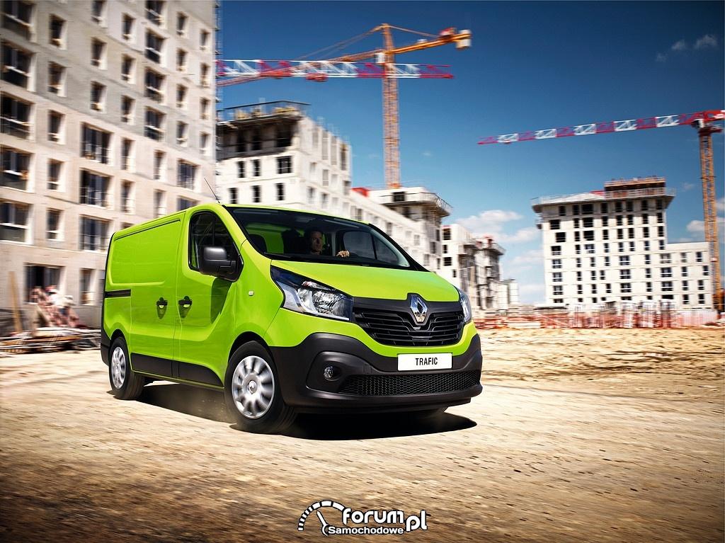 Nowe Renault Trafic