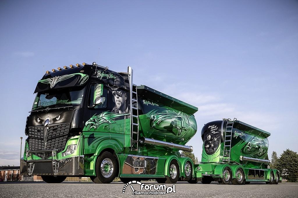 Pokazowa ciężarówka - Highway Hero - Mercedes-Benz Actros 2551