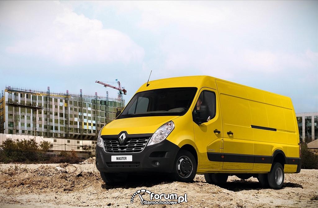 Renault Master 2014, na budowie