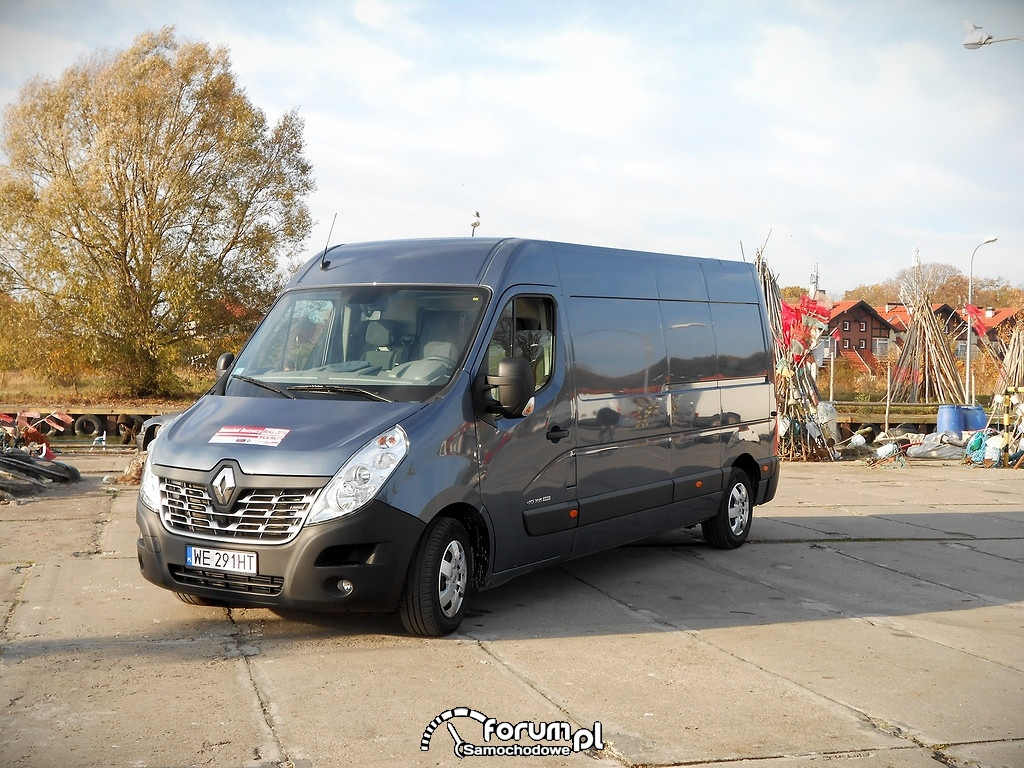 Renault Master dci 165, 2014