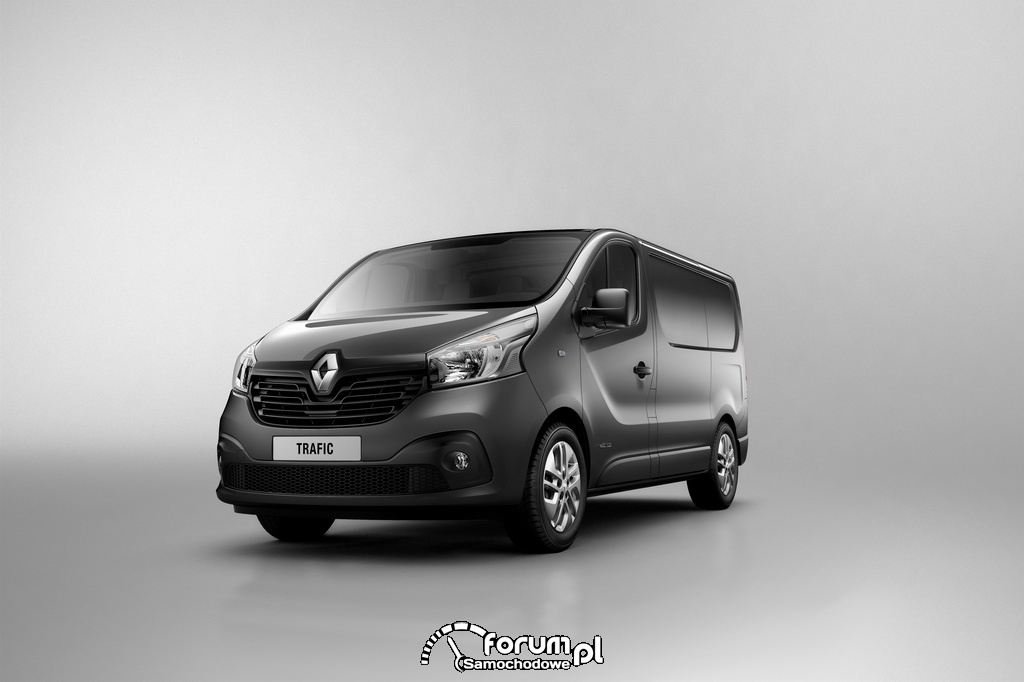 Renault Trafic 2014, nowa stylistyka zewnętrzna