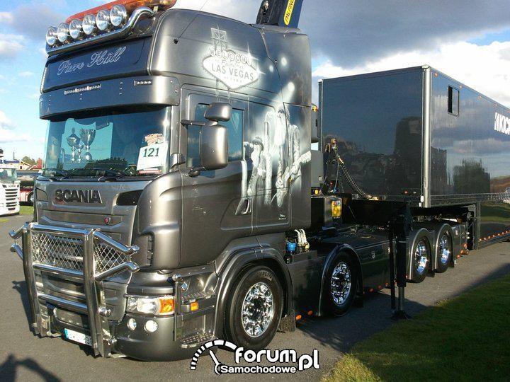 Najpiękniejsze szwedzkie tuningowane ciężarówki