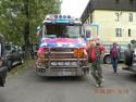 Scania seria T, widok z przódu, orurowanie