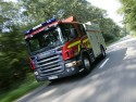 Scania - wóz strażacki