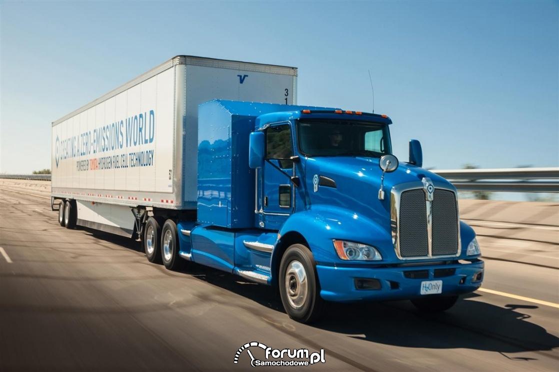 Wodorowa ciężarówka