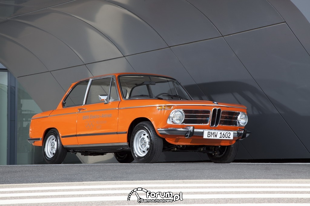 BMW 1602 Electric (1972), przód