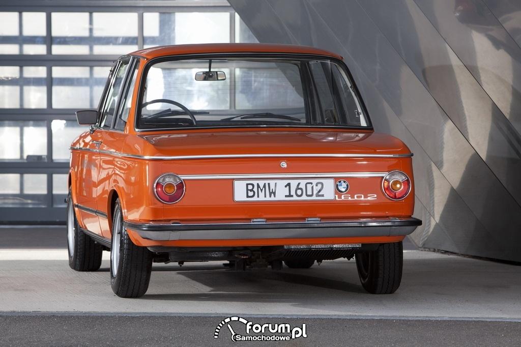 BMW 1602 Electric (1972), tył