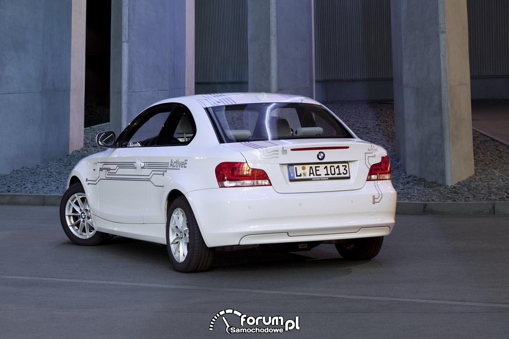 BMW ActiveE (od r. 2010), tył
