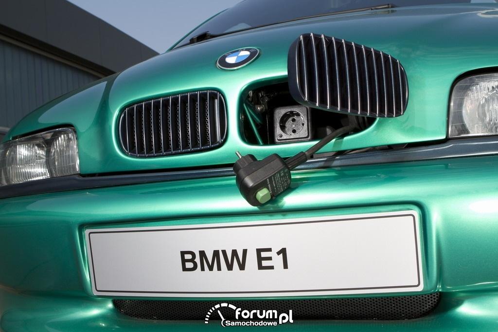 BMW E1 i E2 (1991-1993), miejsce ładowania
