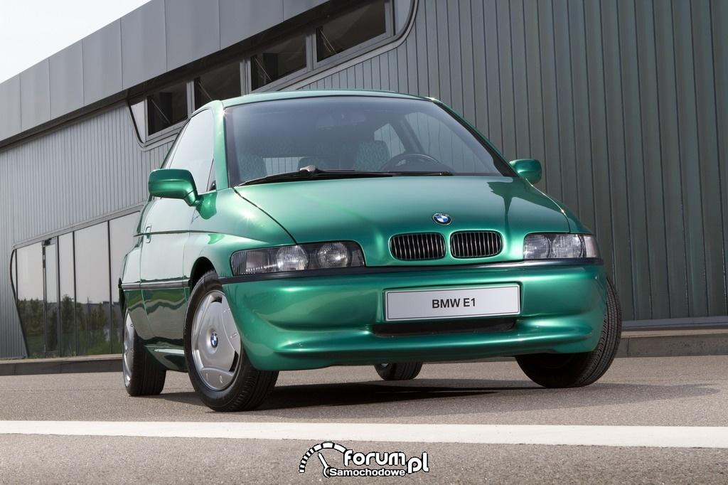 BMW E1 i E2 (1991-1993), przód