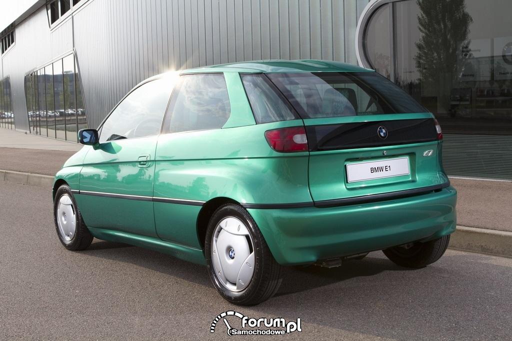 BMW E1 i E2 (1991-1993), tył