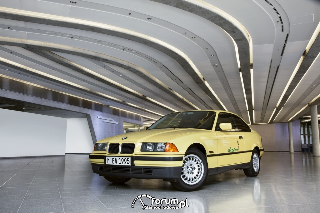 BMW electric (1992-1997), przód