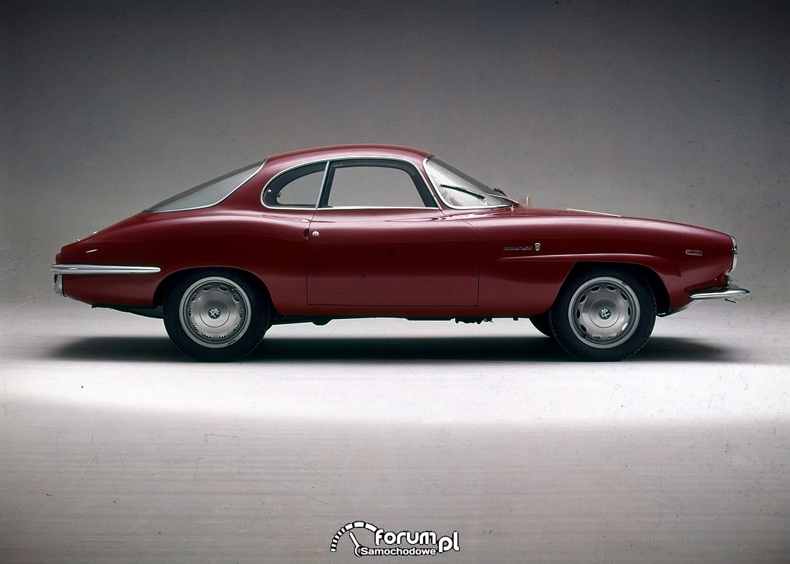 Alfa Romeo Giulia Sprint Speciale 1963 rok