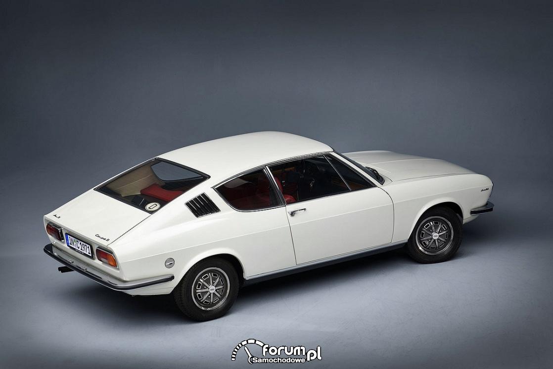 Audi 100 Coupe S, 1972 rok