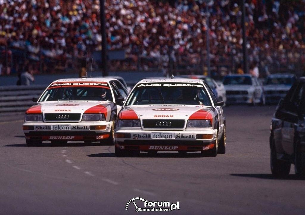 Audi V8 pierwszej generacji, sport