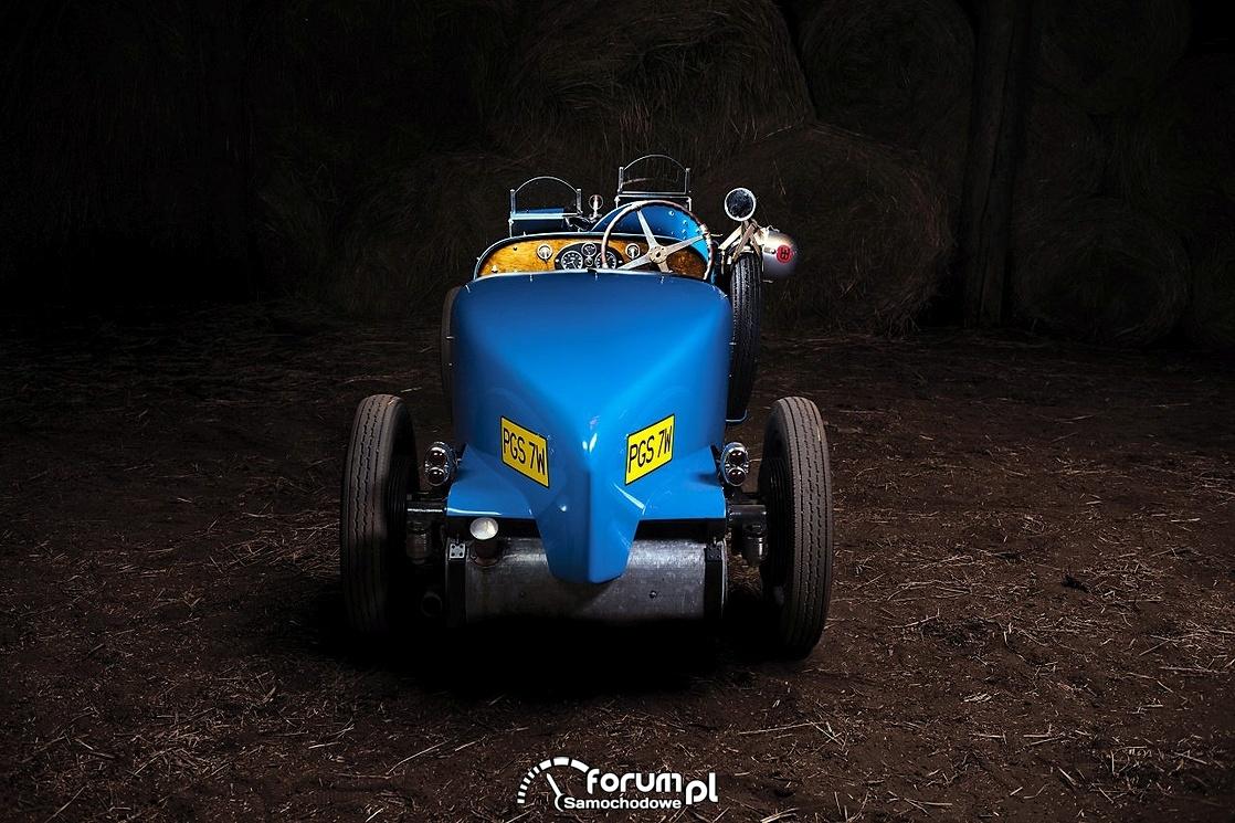 Bugatti T40, tył