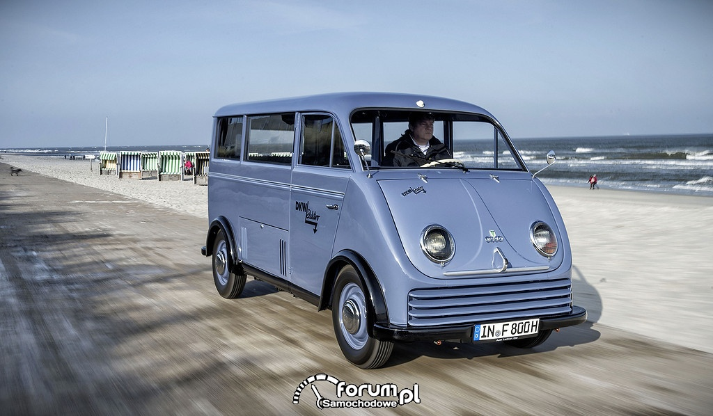 Elektryczny samochód DKW