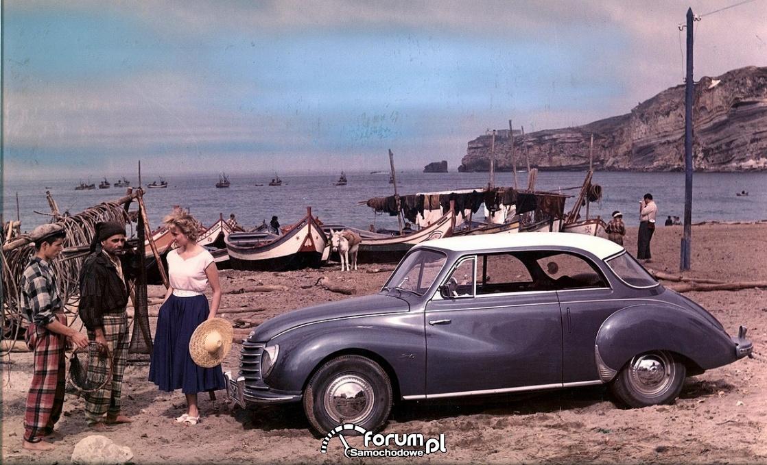Lato, samochód i urlop: nowa wystawa specjalna w Audi museum mobile