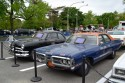 Ford Custom Coupe - 1950 rok i Plymouth Fury - 1972 rok, samochody policyjne