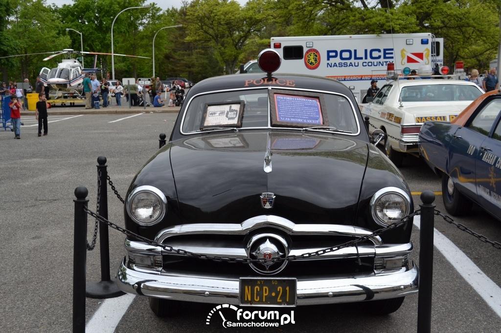 Ford Custom Coupe, 1950 rok, Policja