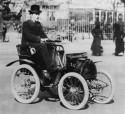 Louis Renault i jego Voiturette Type A - 1899 r.