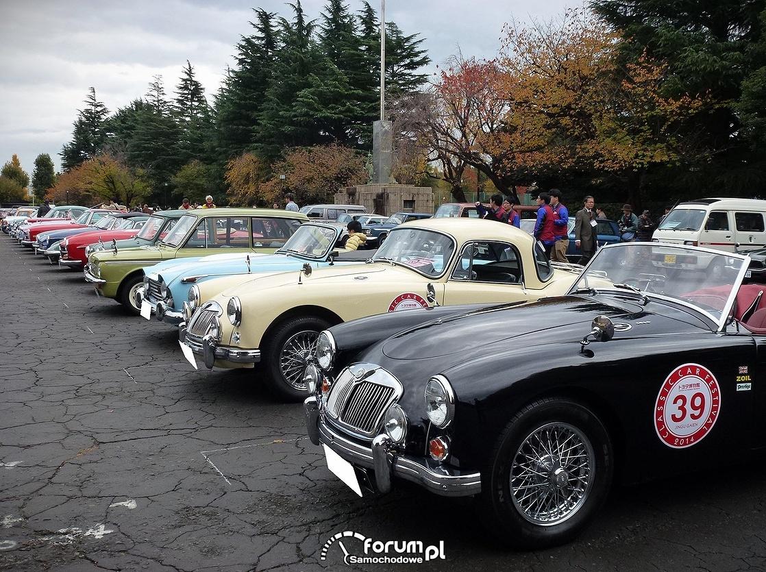 Parada Classic Car w Tokyo
