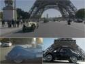 Parada samochodów zabytkowych w Paryżu