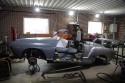 Prace renowacyjne nad Karmannem Chia Cabriolet z 1965 1
