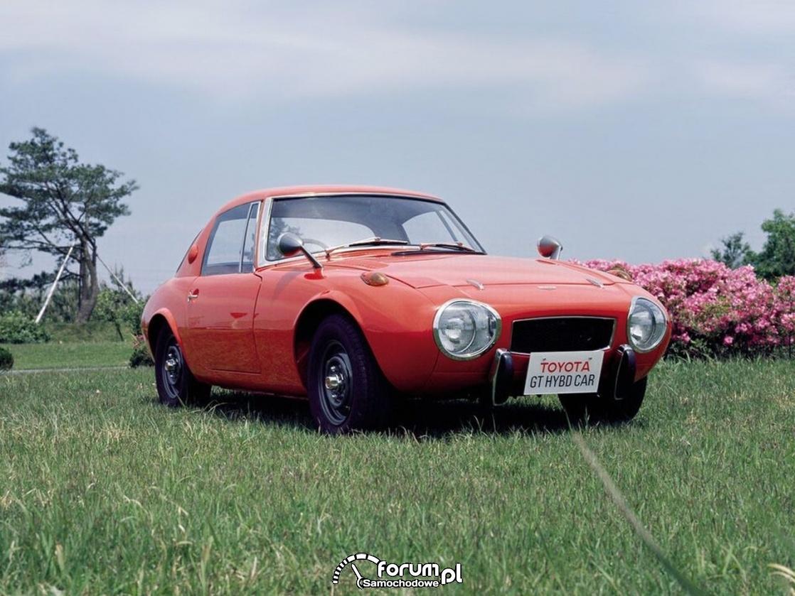 Protohybryda, Toyota Sports 800 gas turbine hybrid, 1977 rok