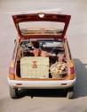 Renault 5, bagażnik, 1972 rok
