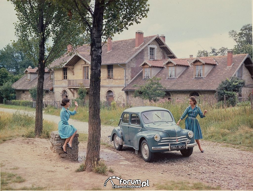 Renault model 4 CV