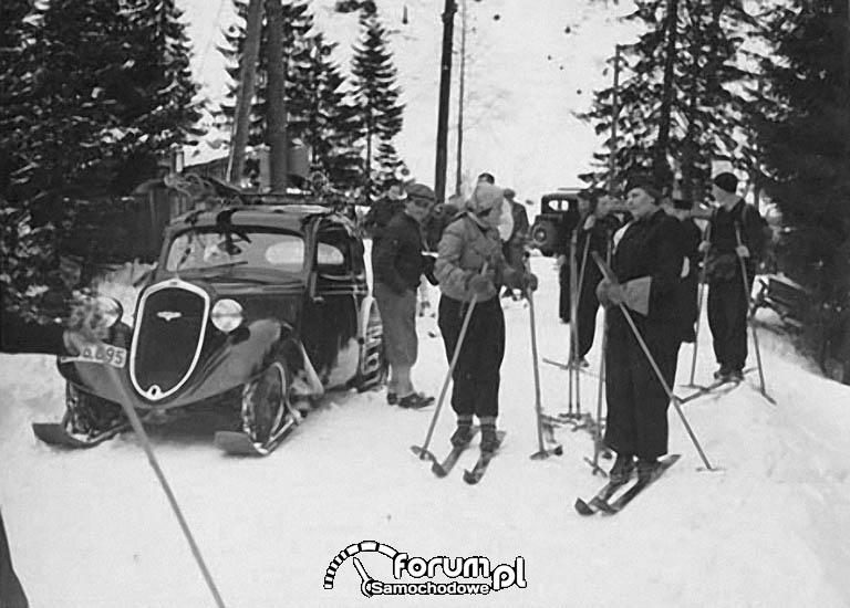 Poskramiacz śniegu z 1934 roku - Skoda Popular