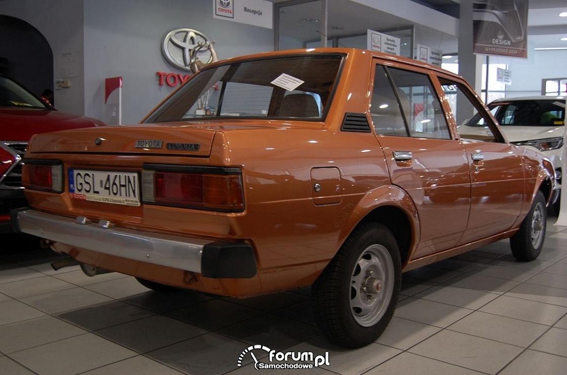 Toyota Corolla 1981 rok, 2