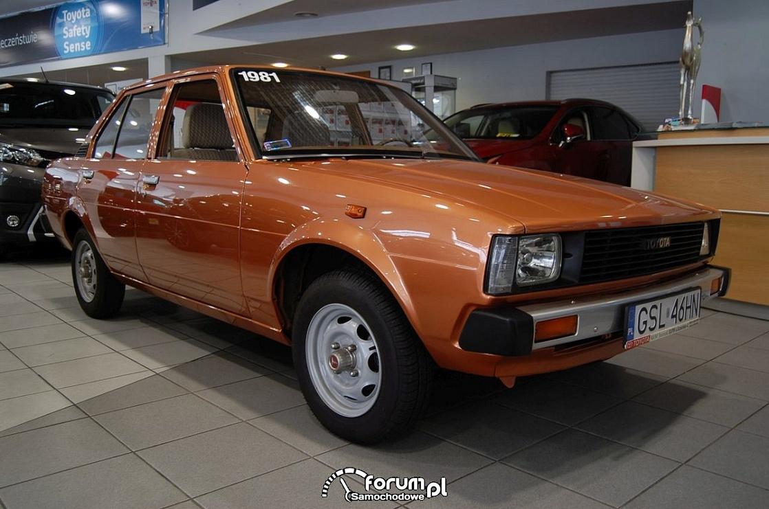 Toyota Corolla 1981 rok, 3