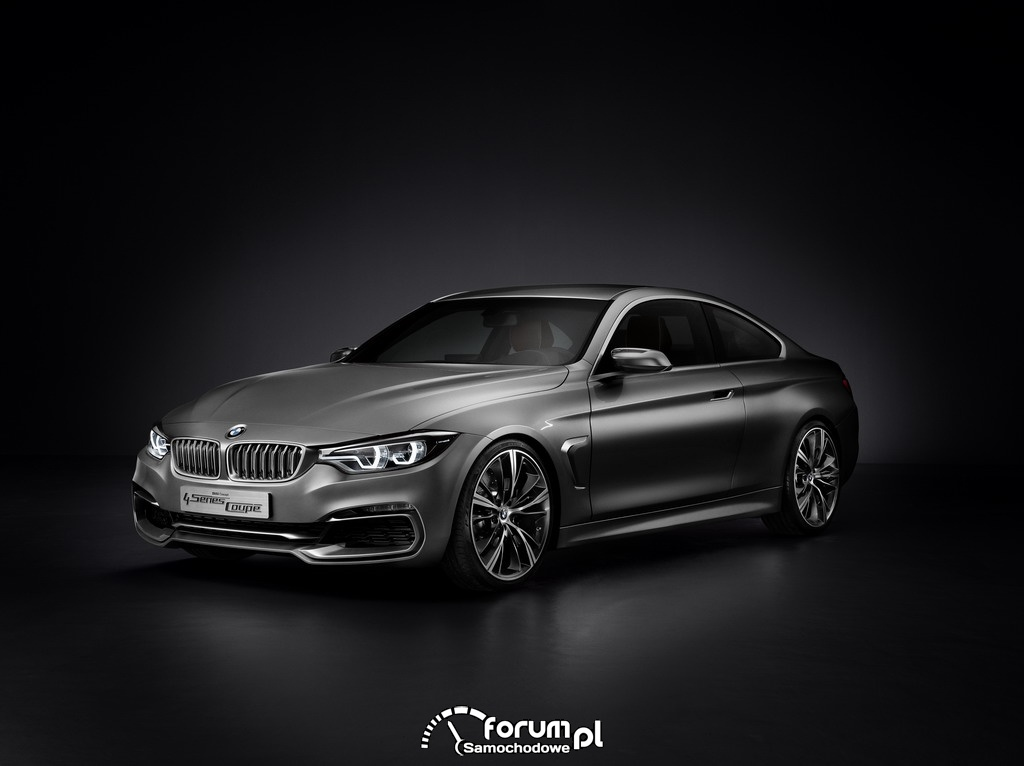 BMW Concept 4 Series Coupé, 2012