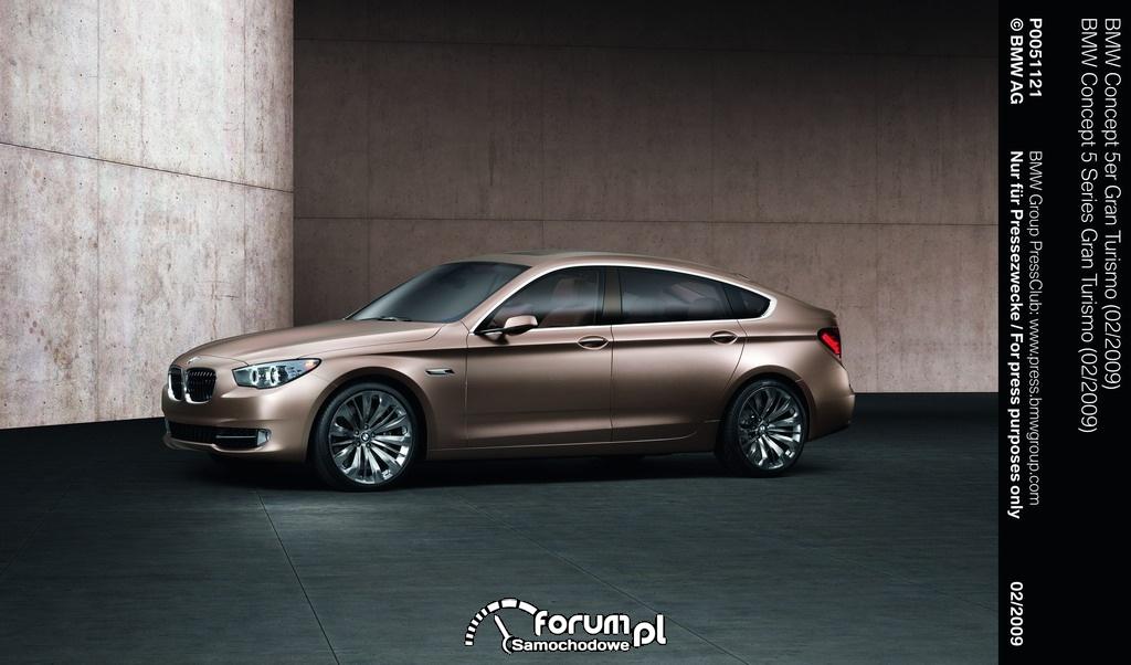 BMW Concept serii 5 Gran Turismo 2009
