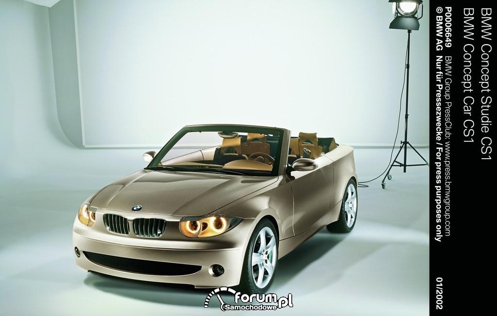 BMW Concept Car CS1, 2002