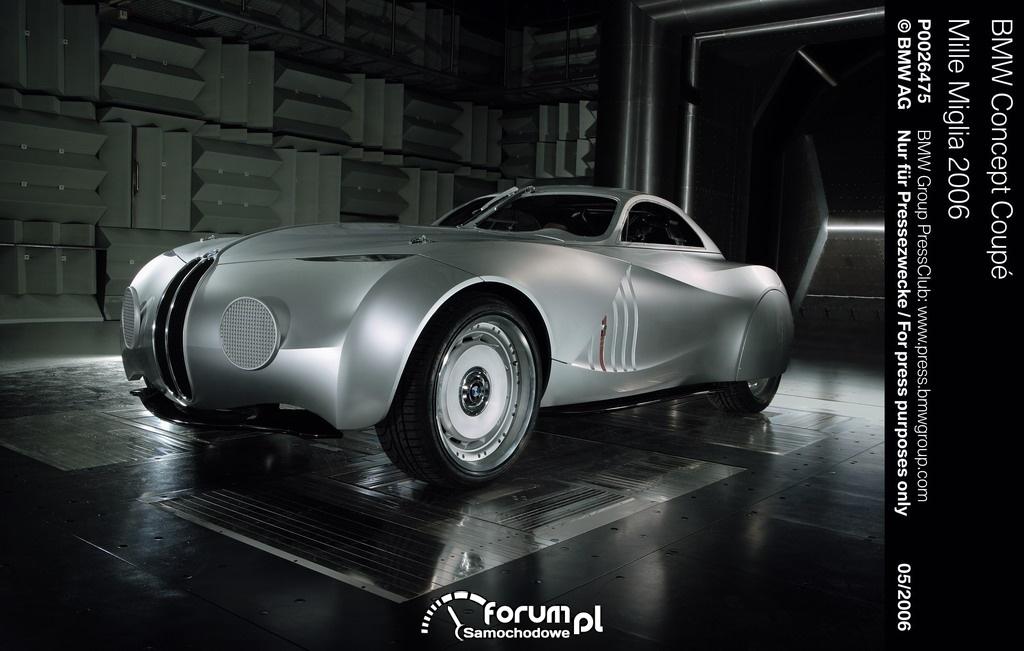BMW Concept Coupé Mille Miglia, 2006