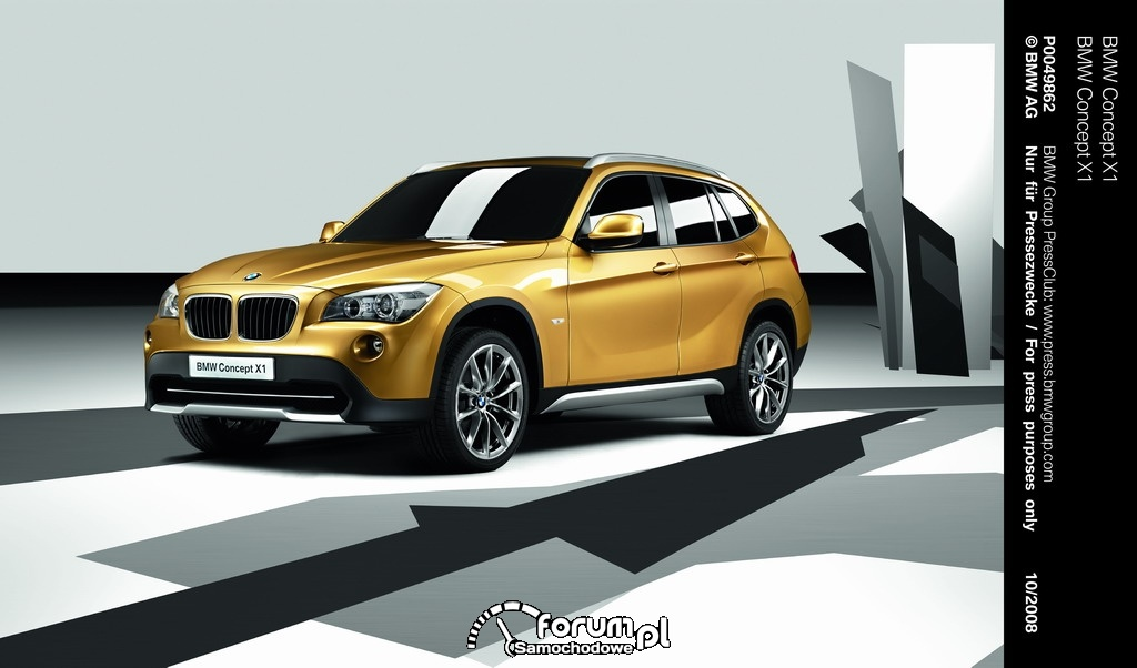 BMW Concept X1, 2008