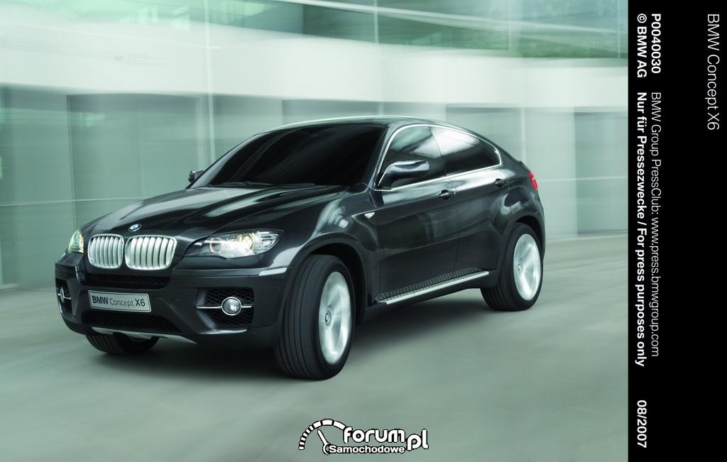 BMW Concept X6, 2007