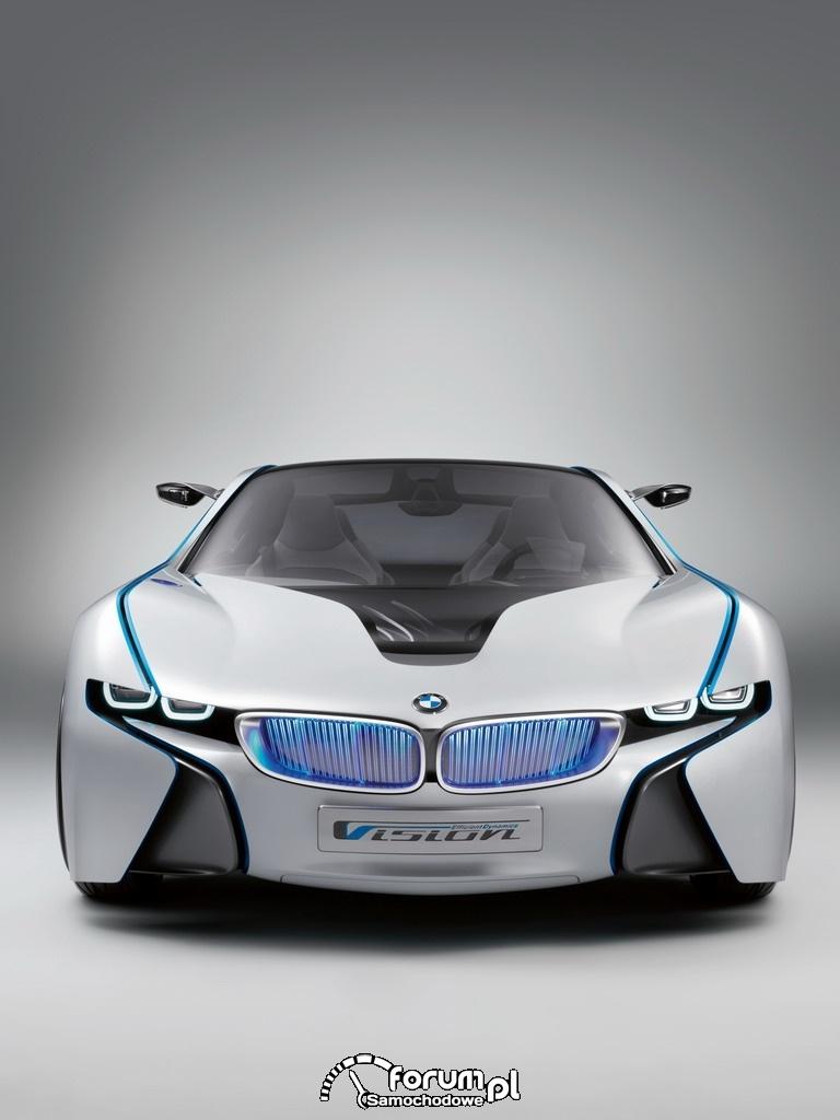 BMW Vision EfficientDynamics, napęd elektryczny, 2009