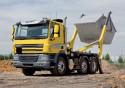 Daf CF, ciężarówka z teleskopową zabudową bramową