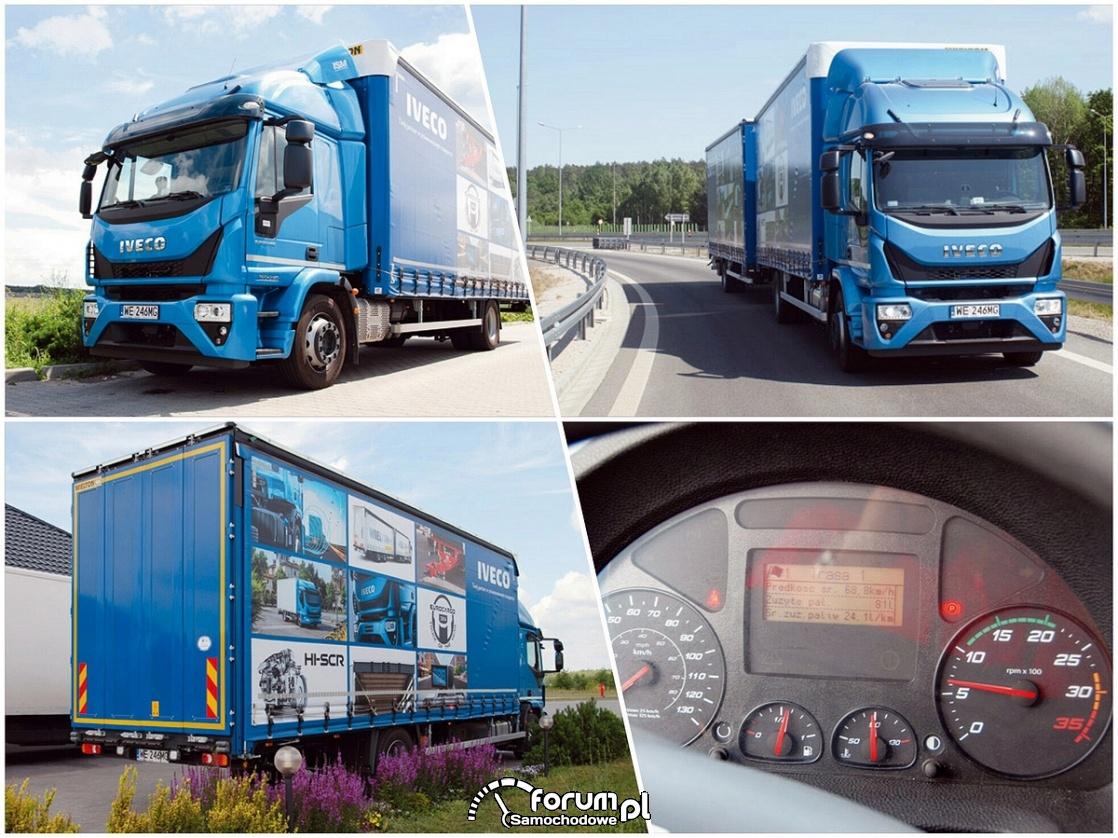 Eurocargo ML180E25: pojemny i ładowny