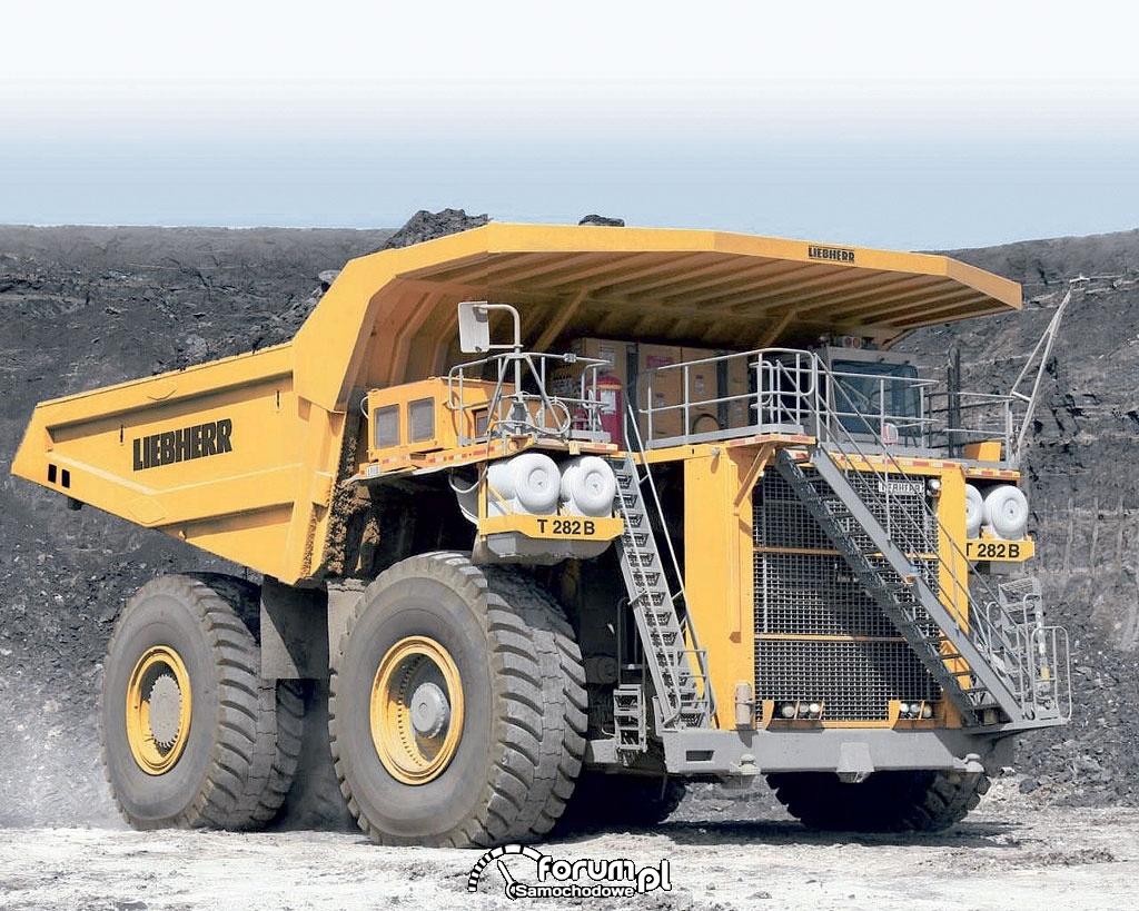 Wywrotki giganty to największe ciężarówki na świecie