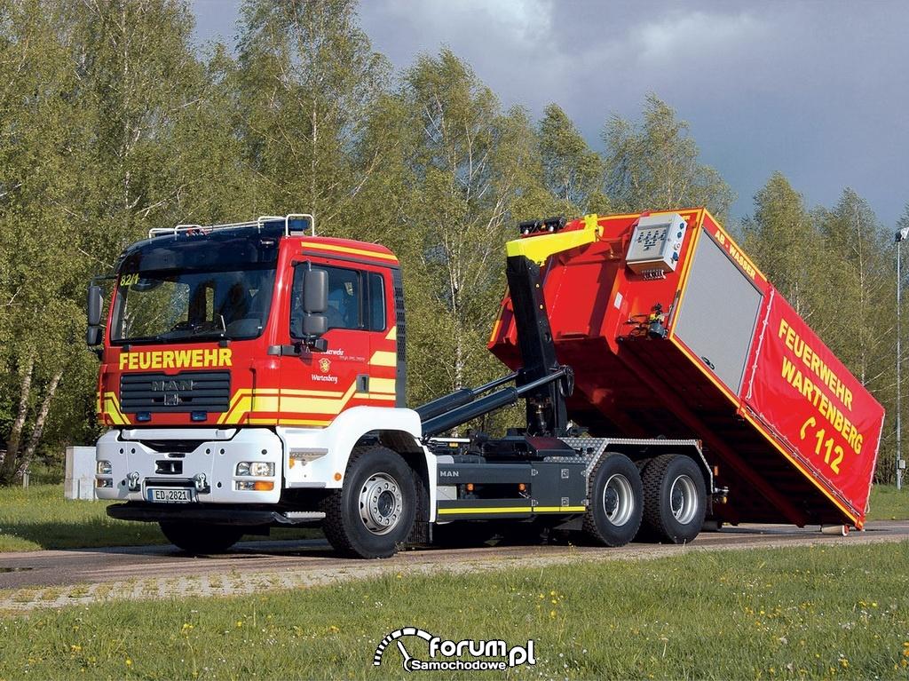 Man, ciężarówki hakowe
