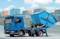 Man, mała ciężarówka z zabudową bramową