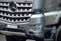 Mercedes-Benz Arocs, zabezpieczenie przodu przed trudnym terenem